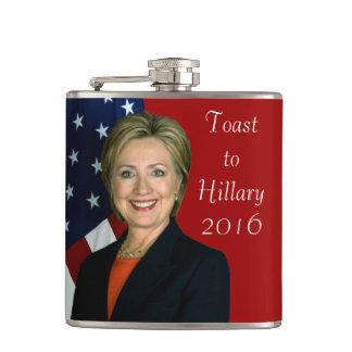 Tostada a Hillary 2016