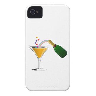 Tostada de Champán Carcasa Para iPhone 4 De Case-Mate