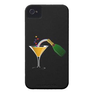 Tostada de Champán Case-Mate iPhone 4 Fundas