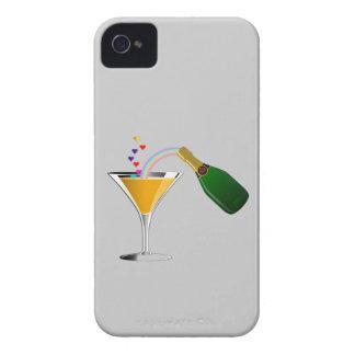 Tostada de Champán Funda Para iPhone 4 De Case-Mate