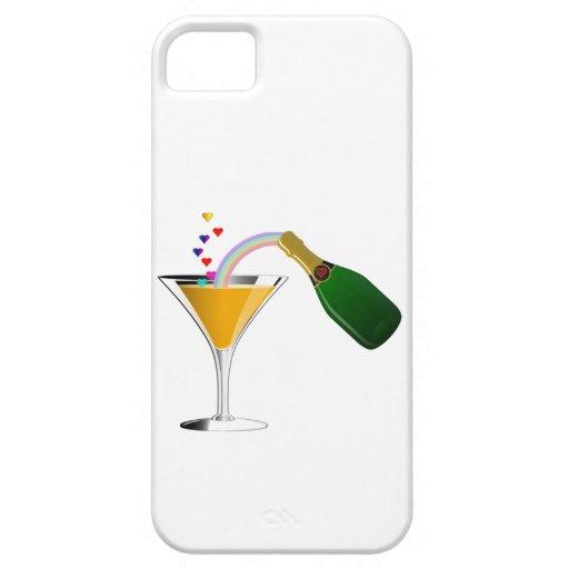 Tostada de Champán iPhone 5 Carcasas