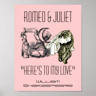 Tostada de Romeo al festival de Shakespeare del po Poster