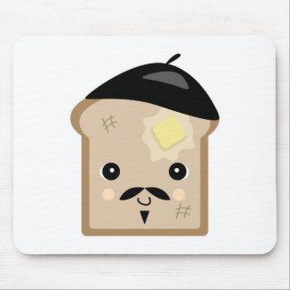 tostada francesa linda tapete de ratones