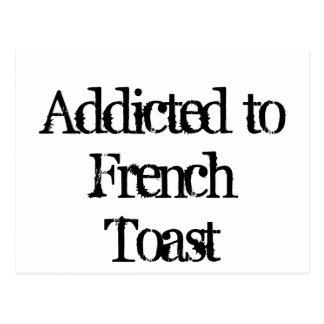 Tostada francesa tarjetas postales
