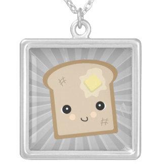 tostada linda del kawaii colgantes personalizados