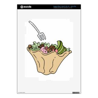 Tostada Salad Mexican Food iPad 3 Decal