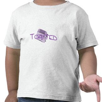 - Tostadora retra - púrpura tostada Camisetas