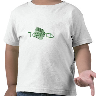 - Tostadora retra - verde tostado Camisetas