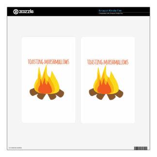 Tostar las melcochas skin para kindle fire