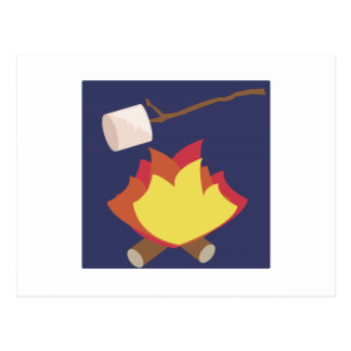Tostar las melcochas postal