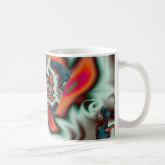 Tostar las melcochas taza de café