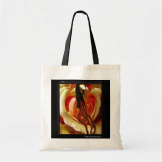 Totable Art by Metaphorphosis ~ a rose ~ Tote Bag