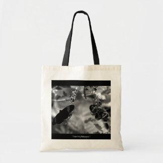 Totable Art by Metaphorphosis ~ butterfly bag
