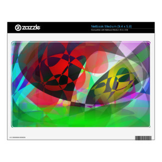 Total Abstract Art Decals For Netbooks