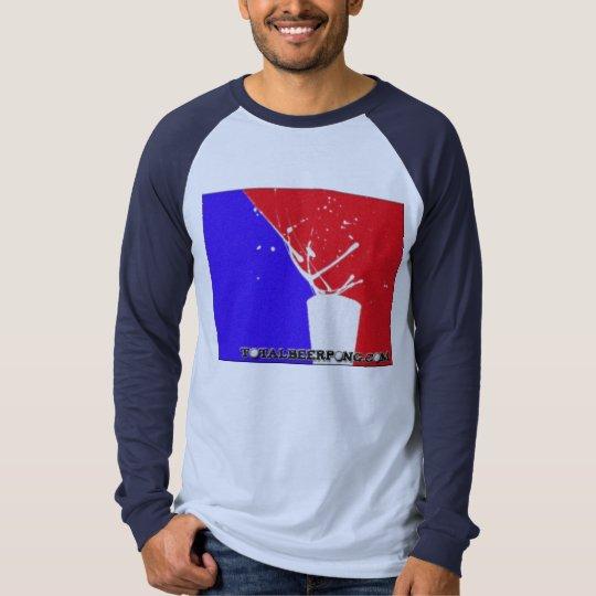 Total Beer Pong Long Sleeve Raglan T-Shirt