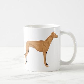 Total caffeine hound loves cofffee mug