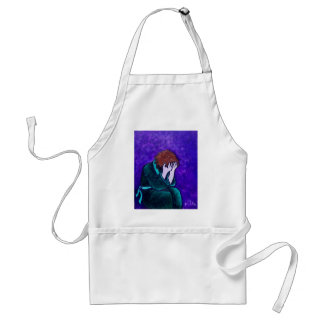 Total Darkness Adult Apron