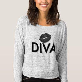 Total Diva Lips Off Shoulder Shirts