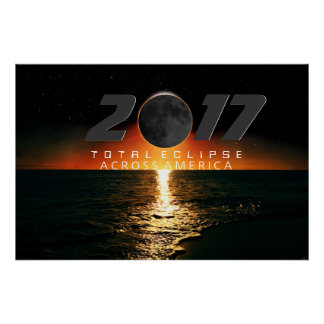 Total Eclipse Across America Poster