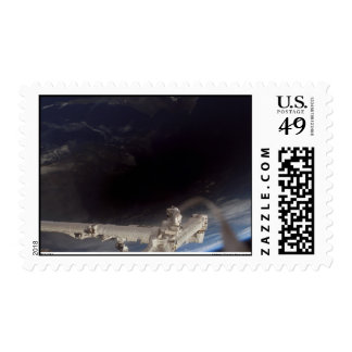 Total Eclipse March 29, 2006 ISS Shot Stamp