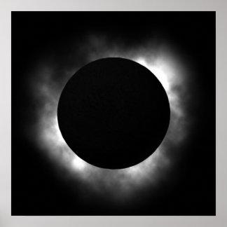 Total eclipse print