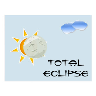 Total Eclipse Viewing Party Postcard