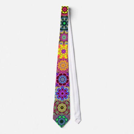 Total Fractal Pattern Tie