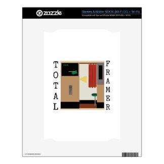 Total Framer NOOK Decal