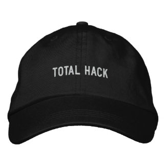Total Hack Embroidered Hats