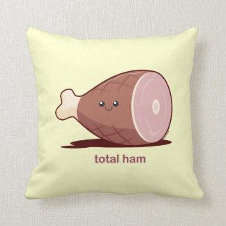 Total Ham Throw Pillow