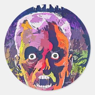 Total Horror Classic Round Sticker