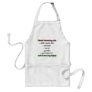 Total Insanity related to Nursing School Adult Apron