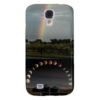 Total Lunar Eclipse, Rainbow - 3 Iphone Cases