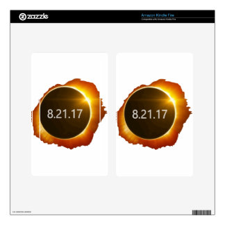 Total-Solar-Eclipse3 Decal For Kindle Fire