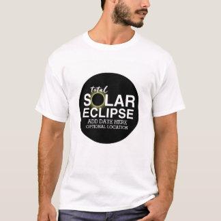 Total Solar Eclipse 2017 - Custom Date & Location T-Shirt
