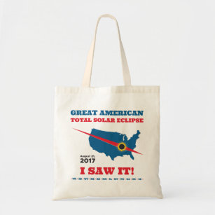 Total Solar Eclipse - 2017 - I saw it! Tote Bag
