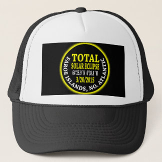 Total Solar Eclipse 3/20/2015 Trucker Hat