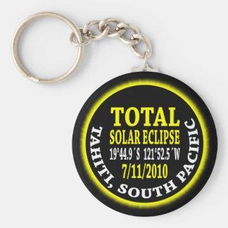 Total Solar Eclipse 7/11/2010 Basic Round Button Keychain