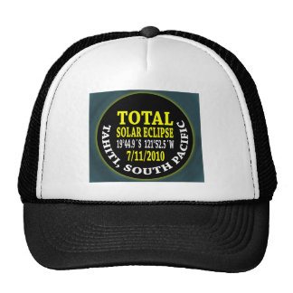 Total Solar Eclipse 7/11/2010 Trucker Hat