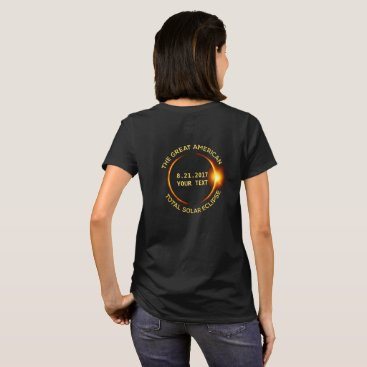 USA Themed Total Solar Eclipse 8.21.2017 USA Add Your State T-Shirt