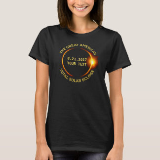 Total Solar Eclipse 8.21.2017 USA Add Your State T-Shirt
