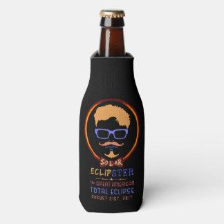 Total Solar Eclipse August 21 2017 Funny Hipster Bottle Cooler