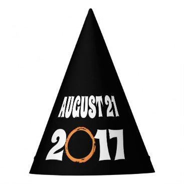 Total Solar Eclipse August 21 2017 Party Hat