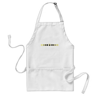 Total Solar Eclipse Cycle Adult Apron
