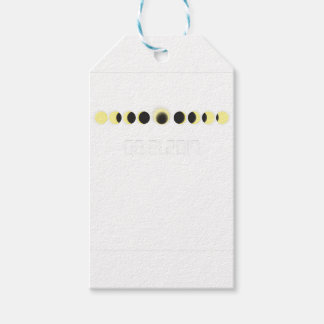 Total Solar Eclipse Cycle Gift Tags