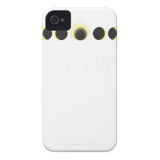 Total Solar Eclipse Cycle iPhone 4 Case-Mate Case