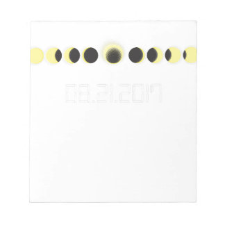 Total Solar Eclipse Cycle Notepad