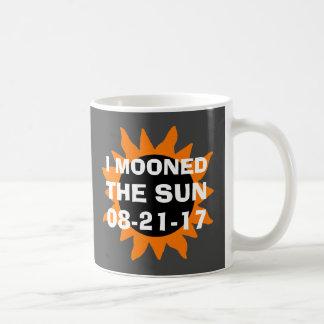 Total Solar Eclipse I Mooned the Sun Funny Coffee Mug