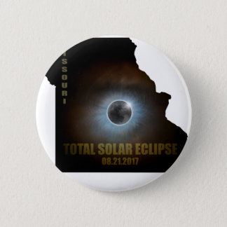 Total Solar Eclipse in Missouri Map Outline Button