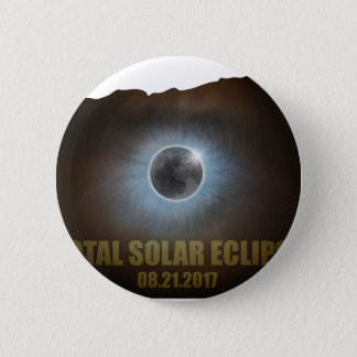 Total Solar Eclipse in Oregon Map Outline Button